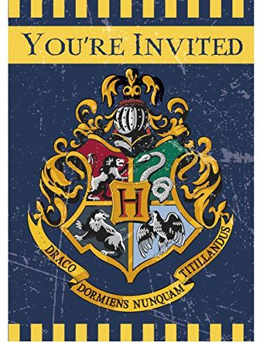 Set di 12 – 8 biglietti di invito di Harry Potter – Taglia...