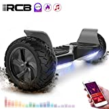 RCB Hoverboard Scooter Elettrico Fuoristrada Scooter 8.5 '' Hummer LED App Bluetooth...
