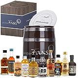 probierFass Rum Probierset | 10 beliebte Rum Klassiker (10 x 0.05 l) in einem originellen Fass mit...