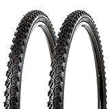 KENDA K831 Alpha Bite Tires Pair 26x1.95 Black 40-65PSI MTB Mountain Bike