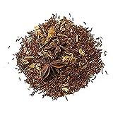 Aromas de Té - Infusión Rooibos Secreto de Oriente - Té Rooibos con Canela y Jazmín Afrodisíaco - Digestivo - Efecto Relajante - Sin Teína - Sin Gluten - 100 gr.