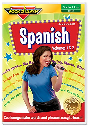 Spanish DVD by Rock 'N Learn