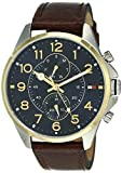Tommy Hilfiger Analog Blue Dial Men's Watch - TH1791275J