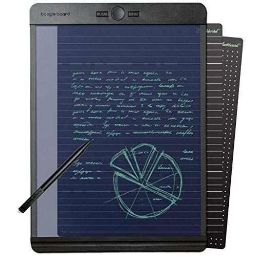 Boogie Board Blackboard Letter 8.5 x 11 inches - Paperless Notepad - Authentic Boogie Board