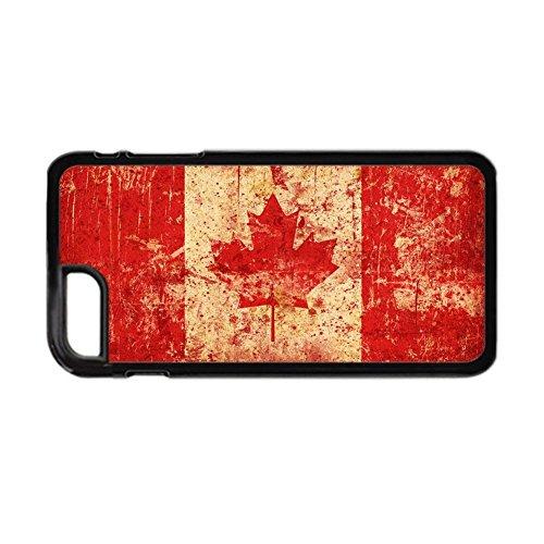 Gogh Yeah para iPhone 7 8 Teléfono Concha Dura Abs Hombre Imprimir con Canadian Flag Raro