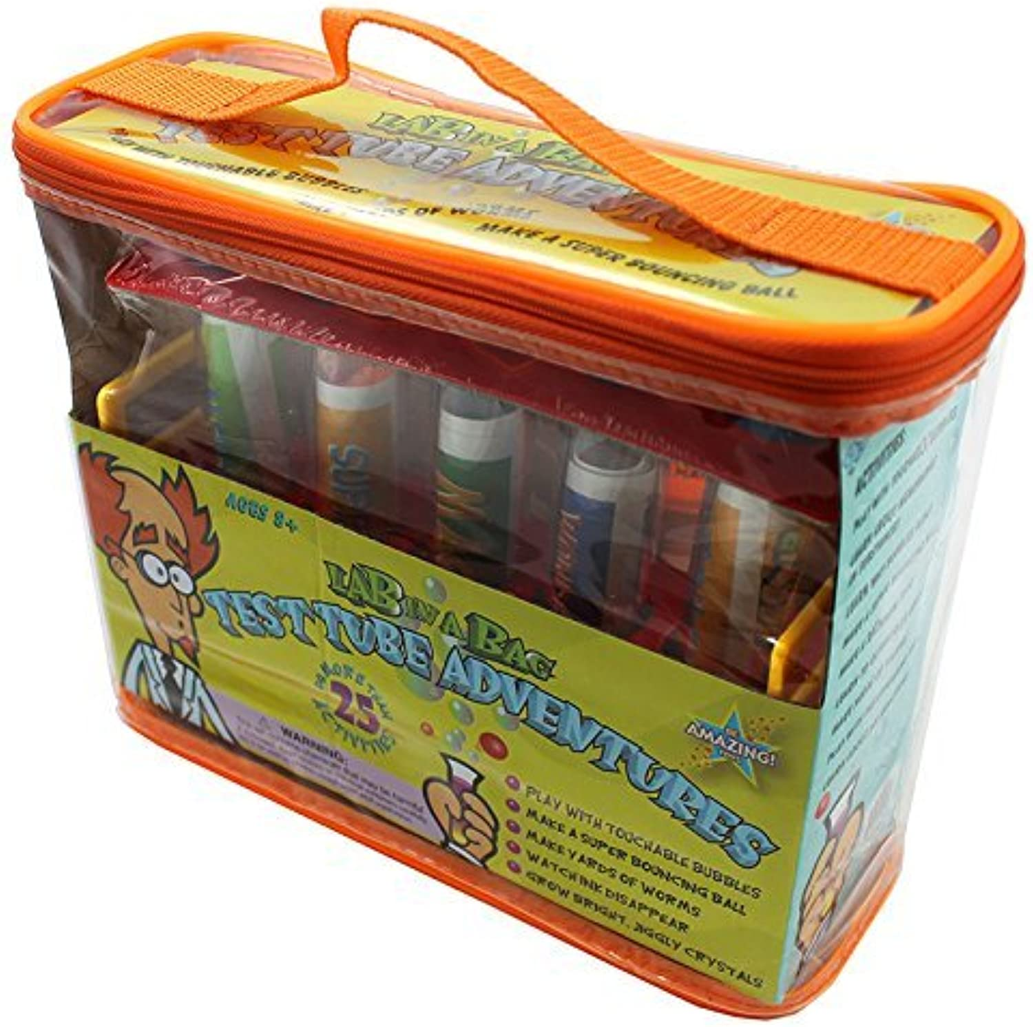 Test tube adventures lab-in-a-bag by BE AMAZING TOYS