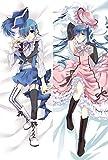 Black Butler Ciel Phantomhive Anime Pillowcase 150cmx50cm(60inx20in) Peach Skin Double Sided Japanese Manga Fans Body Throw Pillow Cover Cushion Decor