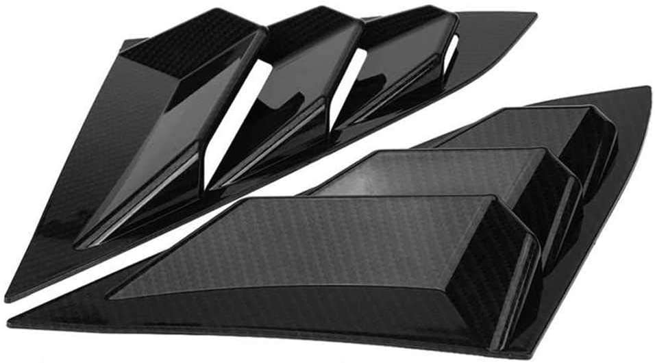 FLJKCT Mail order cheap Car Side Window Louver Vent Honda Civic 201 Max 57% OFF Cover for Fit