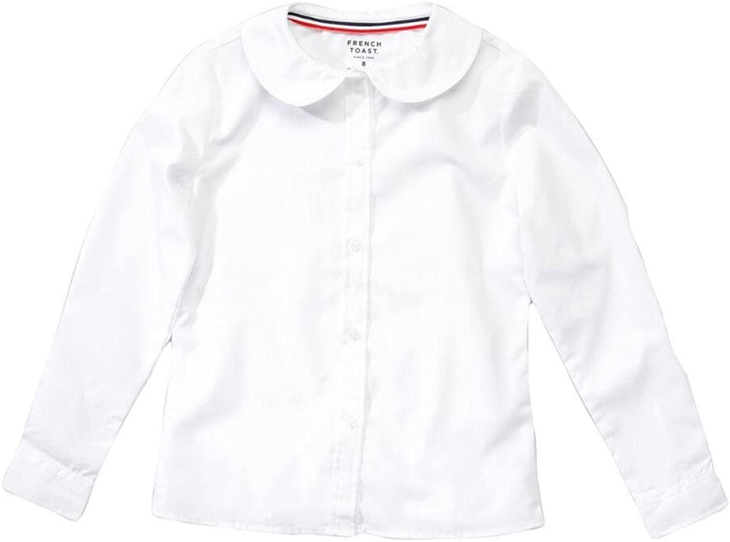 French Toast School Uniform L S Peter Pan Free shipping on posting reviews Ranking TOP8 Blouse - 7 20 Sizes