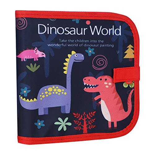 Weihnachtsgeburtstagsgeschenke für Kinder, löschbares Graffiti-Buch Doppelseitige Kinderzeichnungstafel Tragbares frühes Bildungszeichenbrett Lernspielzeug