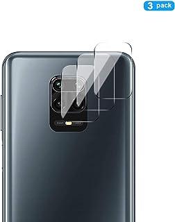 GEEMEE Protector de Lente de cámara para Xiaomi Redmi Note 9S/ Note 9 Pro/Note 9 Pro MAX/Redmi Note 9, Cristal Película Vidrio Templado Dureza 9H Alta Sensibilidad Cubierta Screen Protector
