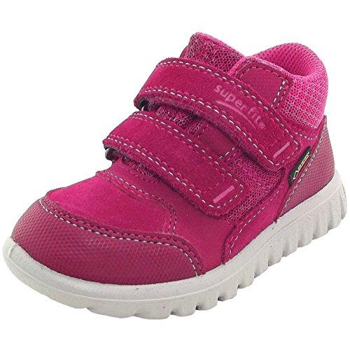 Superfit Mädchen SPORT7 Mini Sneaker, Rot (Rot/Rosa 50), 22 EU