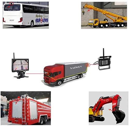 Wireless-Backup-Kamera-Kit-12V24V-Rueckfahrkamera-drahtlos-IP67-Wasserdicht-IR-Nachtsicht-Rueckseite-Funk-Back-Up-Auto-Kamera-Kit-7-TFT-LCD-Monitor-Einparkhilfe