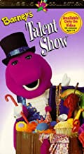 barney talent show vhs