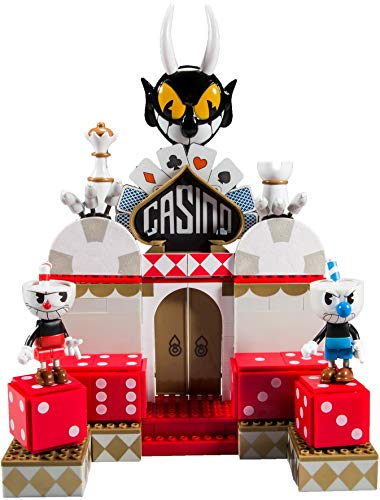 McFarlane Toys Cuphead Chaotic Casino Large Construction Set