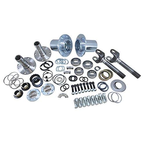 Yukon Gear & Axle (YA WU-04) Spin Free Locking Hub Conversion Kit for Dodge SRW Dana 60 AAM Differential