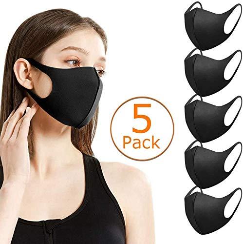 AWFAND Staubgesichtsschutz, Anti-Staub-Baumwollmund-Mundschutz, wiederverwendbarer waschbarer Gesichtsschutz für den Außenbereich