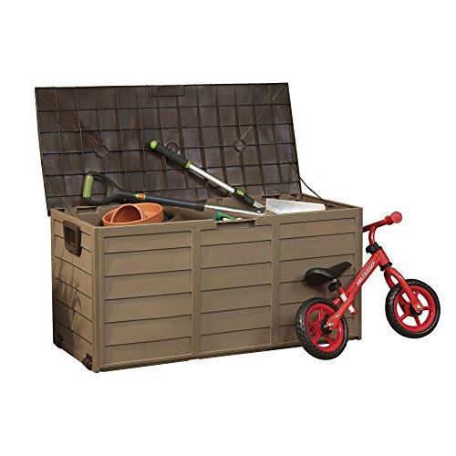 Garden Gear Plastic Garden Storage Box Chest...