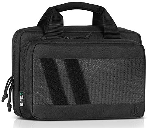 Savior Equipment Specialist Series Tactical Double Handgun Firearm Case Discreet Pistol...