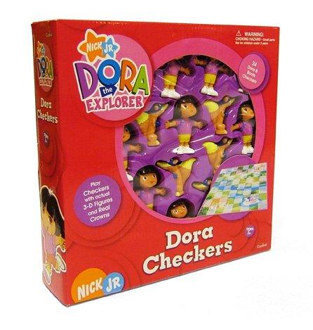 Cardinal Industries Dora The Explorer: Dora Checkers