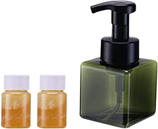 Soap Dispenser, Household Hand Soap Pump Bottle with 2PCS Orange Essential Oil, Natural Super Concentrated Foam Hand Sanitizer for Kitchen Bathroom