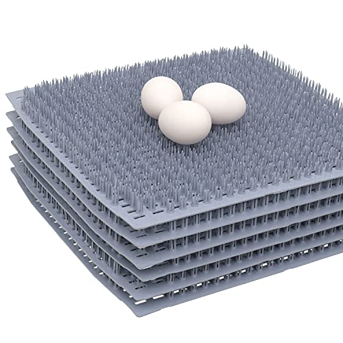 EZ.SIMPLY Chicken Nesting Pads - 6 Washable Nesting Pad - Best Chicken coop Accessories - Poultry Mat for Nesting Boxes - Perfect for Chicken House!