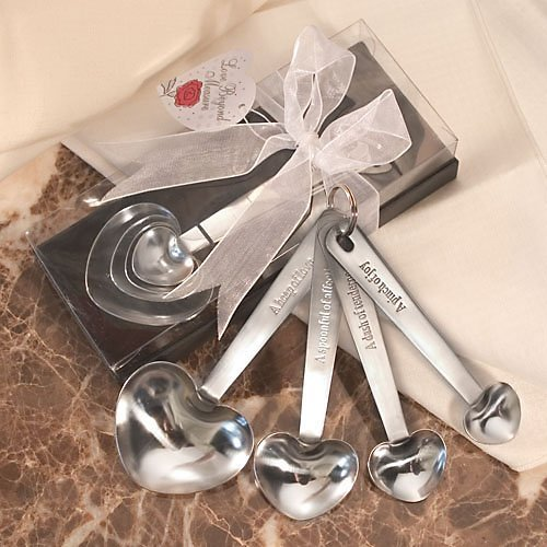 Stainless Steel Measuring Spoons in Gift Box, 48