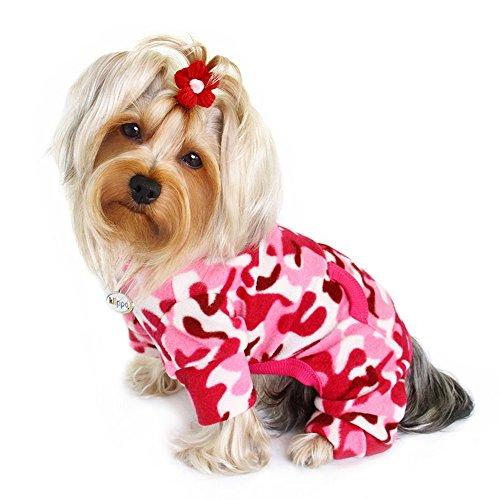Klippo Fleece-Rollkragen-Pyjama/Bodysuit/Loungewear/Overall, Größe XL, Rosa