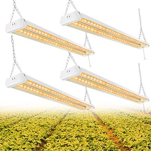 4FT LED Grow Light, Full Spectrum Sunlight Replacement,...
