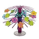Kaskade Hawaii Tischdeko Hibiskus 19 cm Tischkaskade Sommerdeko Sommerparty Partydeko Tisch...