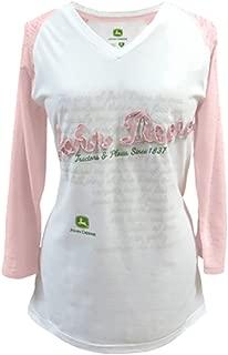 Ladies History Raglan Thermal Long Sleeve Tee-large