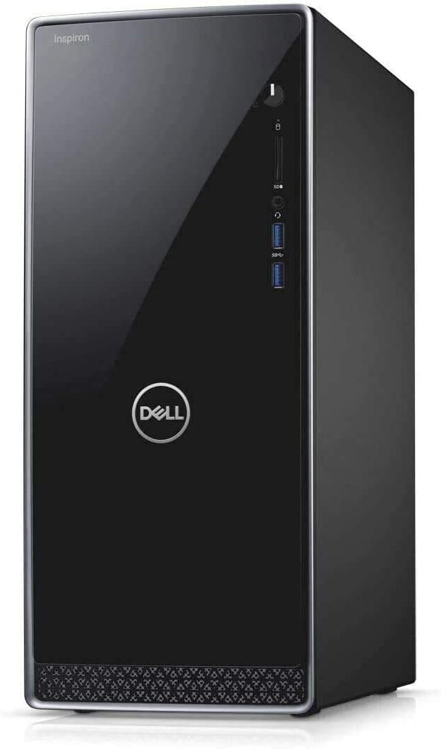 2021 Newest Dell XPS 8940 Business Premium Desktop Computer, 10th Gen Intel 6-Core i5-10400(Beat i7-8700, Up to 4.3GHz), 16GB RAM, 1TB SSD, USB-C, HDMI, WiFi, Bluetooth, Windows 10, Black+Gift Mouse