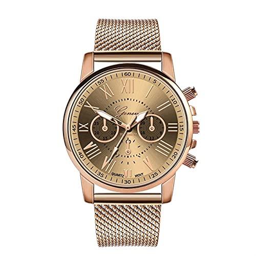 OWZSAN Mujeres Línea De Correa De Cuero De Las Mujeres Relojes De Muñeca De Cuarzo Analógico Relojes De Moda Relojes De Mujer Marca De Lujo Montre Femme Reloj Digital (tamaño : A)