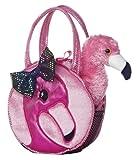 Aurora World Fabulous Flamingo Fancy Pals Pet Carrier - 32604 Multicolor, 7 inches