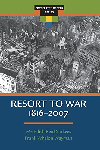 Resort to War: A Data Guide to Inter-State, Extra-State, Intra-State, and Non-State...