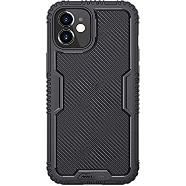 """Nillkin Case for Apple iPhone 12 Mini (5.4"""" Inch) Tactics TPU Soft Case Shockproof 360 Degree Protect Black"""