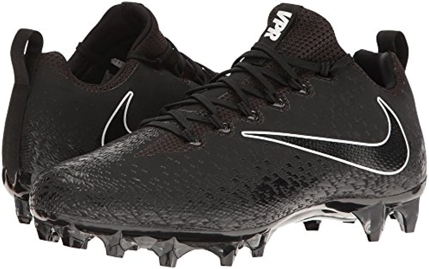 Nike Vapor Untouchable Pro Black Black Metallic Silver White Men's Cleated shoes
