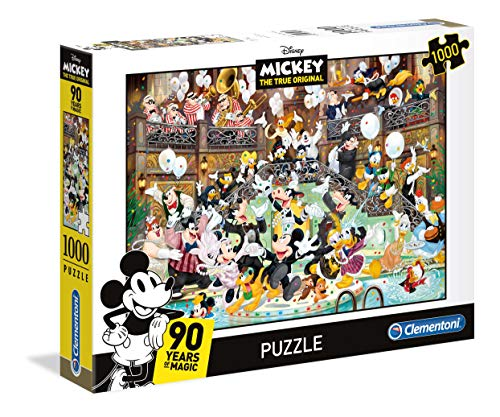 Clementoni- Puzzle 1000 Piezas Disney Gala (39472.2)