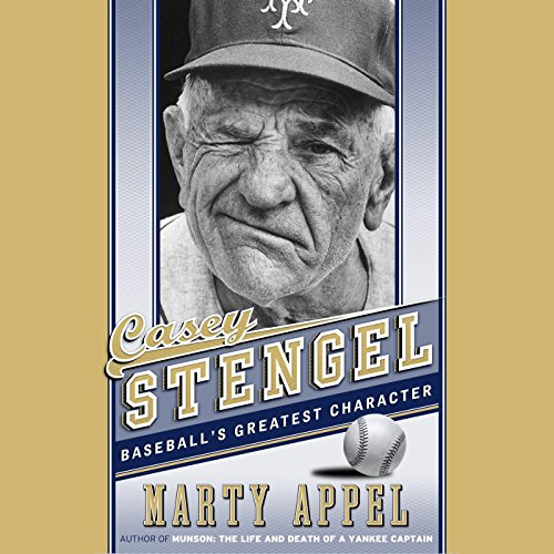 Casey Stengel audiobook cover art