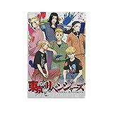 Póster de anime Tokyo Revengers Art Posters en lienzo y pared de arte moderno para dormitorio familiar de 20 x 30 cm