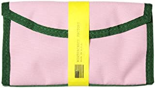【WINTER CHECK FACTORY】NYLOCLUTCH WALLET PINK/GREEN ウォレット ウィンターチェックファクトリー