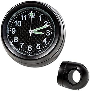 Lenker Quartz Uhr 7/8 + 1 Zoll schwarz Ø 40 mm Zifferblatt Carbon