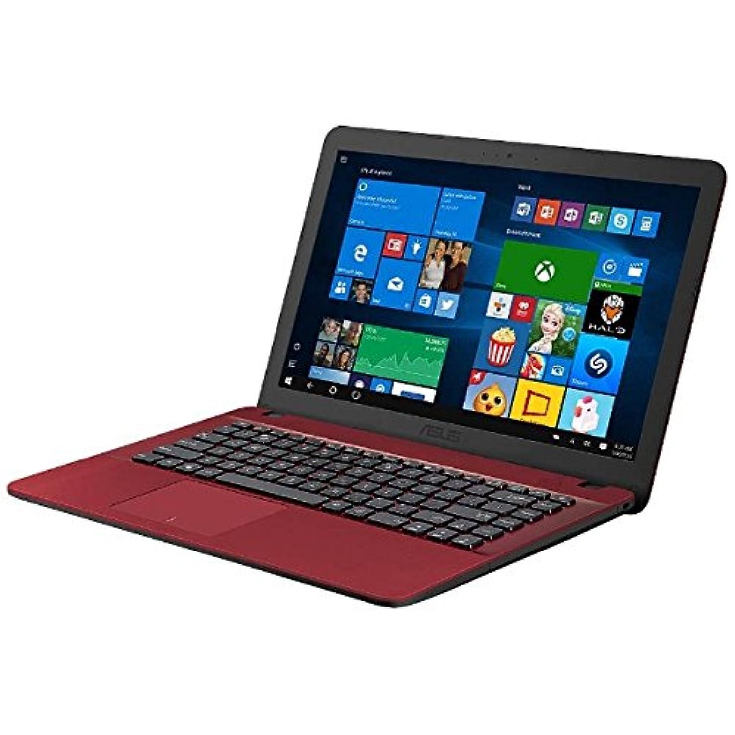 有効容疑者何ASUS 15.6型ノートPC[Offie付き?Win10 Home?Celeron?HDD 500GB?メモリ 4GB] ASUS VivoBook F541SA レッド F541SA-XX246TS (2017年3月モデル)