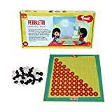 Toiing Pebble TOI 2-in-1 Traditional Indian Fun Strategy Board Game for Kids, Unique