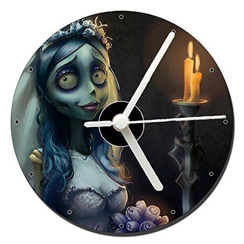 MasTazas La Novia Cadaver Corpse Bride Tim Burton Reloj CD Clock 12cm