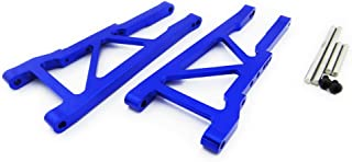 Atomik RC Traxxas XO-1 1:7 Aluminum Alloy Rear Lower Arm Hop Up Upgrade, Blue Replaces Traxxas Part 3655X