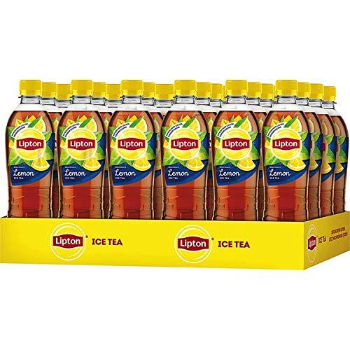 24 Flaschen Pet Lipton Ice Tea Lemon Eistee 0.5L Eisteegetränk mit erfrischendem Zitronengeschmack inc. 6.00€ EINWEG Pfand