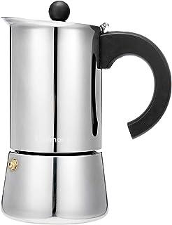 comprar comparacion Godmorn Cafetera Italiana,Cafetera espressos en Acero inoxidable430,300ml,6 Tazas(Taza de Expresso = 50ml),Conveniente par...