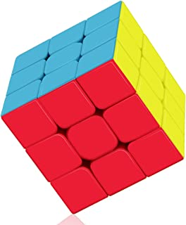 Speed Cube: Roxenda Profession 3x3x3 Speed Cube - Fast Smooth Turning - Solid Durable & Stickerless Frosted, Best 3D Puzzl...