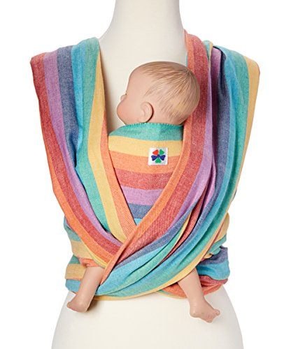 Woven Wrap Baby Carrier for Infants and Toddlers (Summer Rainbow)